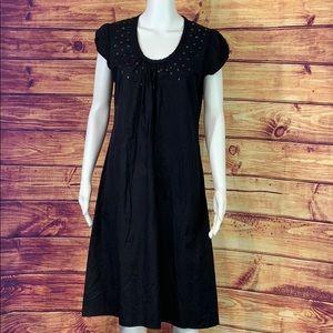 Black w Sequin Dress